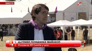 Mañueco apuesta por 'vivir la fiesta de Villalar desde la integración de la diversidad'