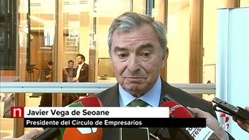 Vega de Seoane no ve viable ligar las pensiones al IPC y tacha de 'ocurrencia' el impuesto a la banca