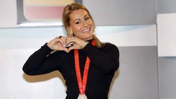 Lydia Valentín, elegida como mejor halterófila del mundo en 2017 por la revista 'World Weightlifting'