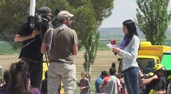 Tras las c�maras de RTVCyL en el d�a Castilla y Le�n