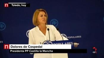 Cospedal deja la Presidencia del PP en Castilla-La Mancha pidiendo un relevo 'sereno y tranquilo'