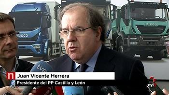 Herrera anuncia que las Cortes suscribirán la semana que viene el pacto industrial