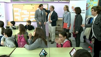 Alumnos de Valladolid aprenden a utilizar las TIC de forma responsable