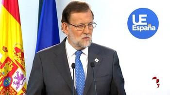 Mariano Rajoy ya trabaja en el discurso de investidura
