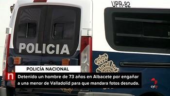 Detenido un 'ciberacosador' de 73 años que simulaba ser un universitario y que se citó con una menor de Valladolid