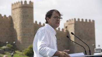 Fernández Mañueco a Pedro Sánchez: 'Si no sabes o no puedes gobernar, vete a tú casa ya'