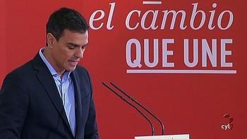Pedro S�nchez pierde la votaci�n y dimite