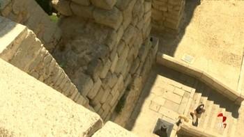 Una joven, herida grave tras caer del mirador del Postigo junto al Acueducto de Segovia