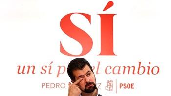 Tudanca se mantiene en el 'no a Rajoy' porque un Gobierno del PP es 'lo peor para Espa�a'