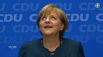 Las encuestas a pie de urna dan la victoria a Merkel
