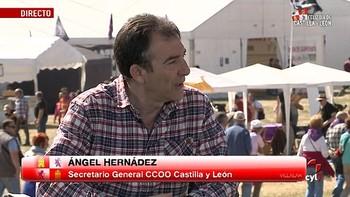 Ángel Hernández afirma que la clase política 'debe a este país' la derogación de la reforma laboral