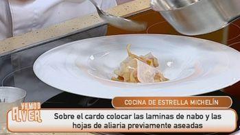 Receta: Tallos rizados de cardo con ajo arriero castellano