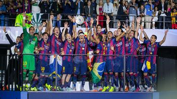 El Barcelona conquista su quinta 'Champions' tras batir (1-3) a la Juventus