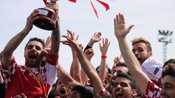 Castilla y León, campeona nacional de la XI Copa de Regiones UEFA