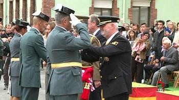 El cuartel general de León celebra la festividad del Pilar, patrona de la Guardia Civil