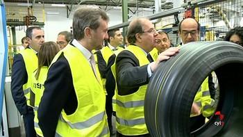 La factoría de Bridgestone en Burgos cumple 50 años