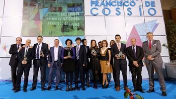 Gala de entrega de los Premios Cossío