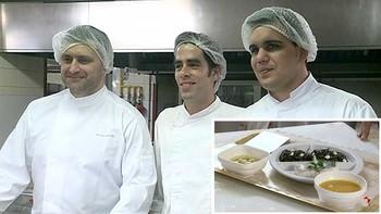 Lo pacientes del hospital Clínico de Valladolid disfrutan de un menú cocinado por estrellas Michelin