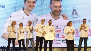 El chef mirandés Rubén Osorio, ganador de la segunda semifinal del Concurso Cocinero del Año