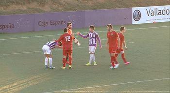 El Real Valladolid B se hunde