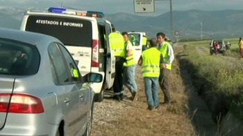 Detenido el conductor de la furgoneta que atropelló a un ciclista en Valverde del Majano, Segovia, que se dio a la fuga