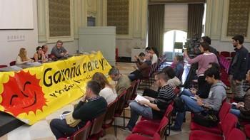 El Foro contra Garoña de Burgos se constituye con la adhesión de 15 colectivos políticos, sociales y sindicales