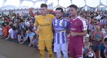 El Real Valladolid presenta sus nuevas equipaciones