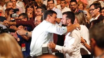 Luis Tudanca pide al PSOE 'remar juntos' para 'ser y parecer la izquierda' que recupere el Gobierno
