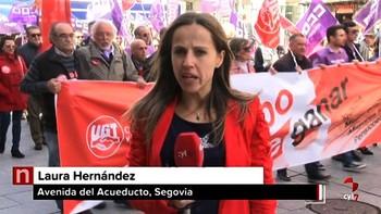 La igualdad entre hombres y mujeres en el ámbito laboral, una de las reivindicaciones en Segovia