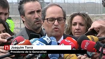 Torra afirma que los consellers en prisión quieren 'acceder al cargo' y pide su libertad