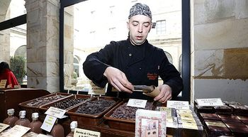 Astorga sabe a chocolate