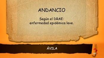Andancio, Alcantarilla, el dicho popular  'Zamora no se hizo en una hora'