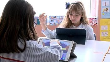 Tablets para reforzar el aprendizaje en clase