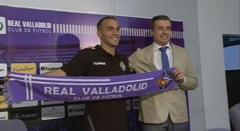 Nacho Martínez fortalece el lateral zurdo del Real Valladolid