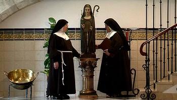 Las Clarisas de Palencia custodian una Virgen que cruz� el oc�ano con Crist�bal Col�n
