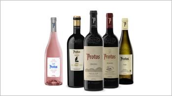 Protos lidera la venta por marcas de vino en España de los últimos tres meses