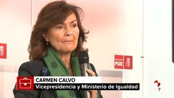 Carmen Calvo y María Jesús Montero serán vicepresidenta y ministra de Hacienda en el Gobierno de Sánchez