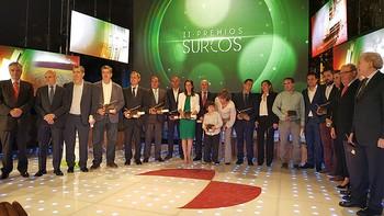 RTVCyL distingue a los mejores del ámbito agrario en la gala de entrega de los II Premios Surcos