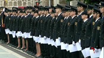 Ávila nombra hijos adoptivos de la ciudad a los alumnos de la Escuela Nacional de Policía