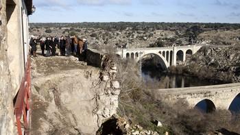 Invierten 233.000 euros en la rehabilitación de la muralla de Ledesma, Salamanca