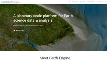 Google muestra la evolución de la Tierra a cámara rápida durante los últimos 32 años