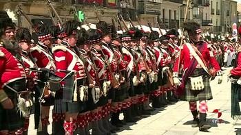 Ciudad Rodrigo regresan a 1812 con la recreación del asedio a la ciudad