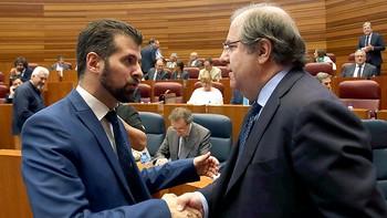 Herrera a Tudanca: 'Nos hemos zurrado bien, pero yo le necesito, Castilla y Le�n le necesita'
