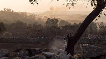 Extinguido después de diez días el incendio de Aldeadávila de la Ribera