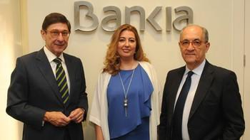 Bankia y la Fundación Caja Segovia sellan el acuerdo que levanta la hipoteca del Torreón de Lozoya