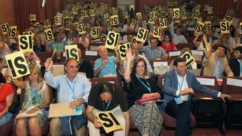 Ángeles Armisen, nueva presidenta del PP de Palencia con el 96% de los votos de los compromisarios
