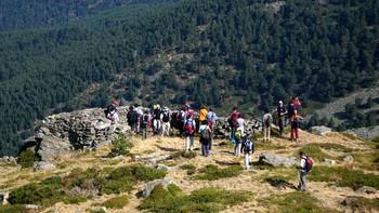 El 'Cerro del Puerco', protagonista de una jornada medioambiental en Valsaín, Segovia
