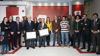 Venancio Blanco y 'El Viti', nuevos corresponsales honor�ficos de...