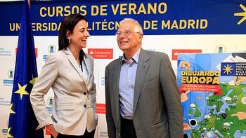 Borrell aboga por una Europa 'democr�tica' contra los populismos y reg�menes totalitarios