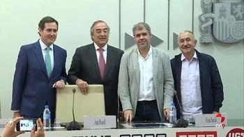 Patronal y sindicatos sellan el nuevo acuerdo sobre empleo y negociación colectiva